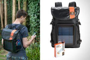 Солнечная батарея в рюкзаке