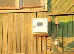 Подходящее место для электросчетчика на улице