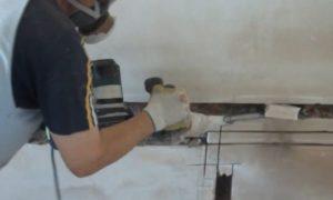 Использование перфоратора для изготовления штроб