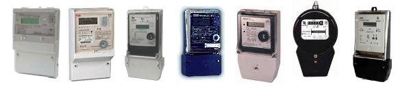 Разновидности электросчетчиков