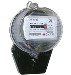 Однофазный счетчик электроэнергии