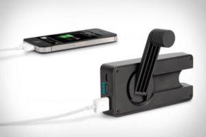 Механическая зарядка для телефона