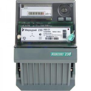 Счетчик электроэнергии Меркурий 230 АМ-01