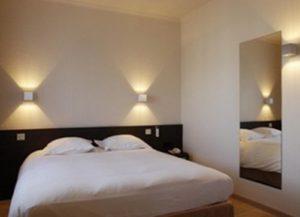 Пример выключателей в спальне