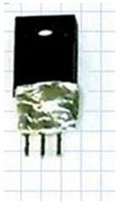 Обмотанный фольгой транзистор