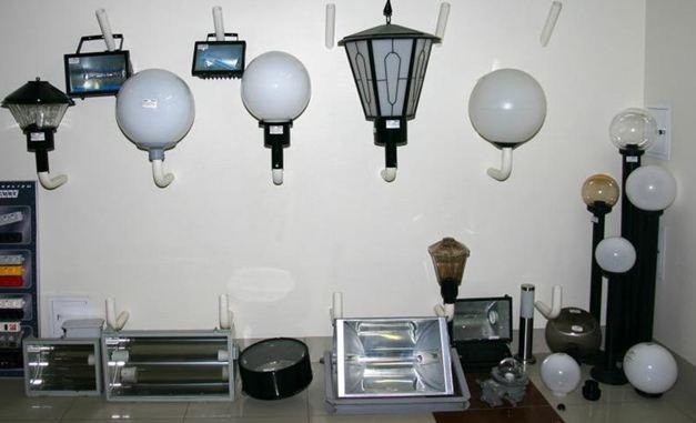 Уличные фонари, работающие от ламп ДРЛ
