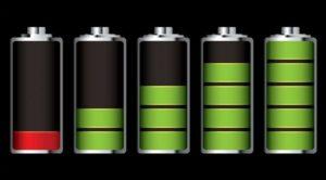 Заряд батареи на телефоне
