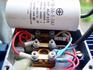 Схема подключения асинхронного двигателя