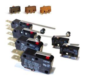 Миниатюрная модель концевого выключателя