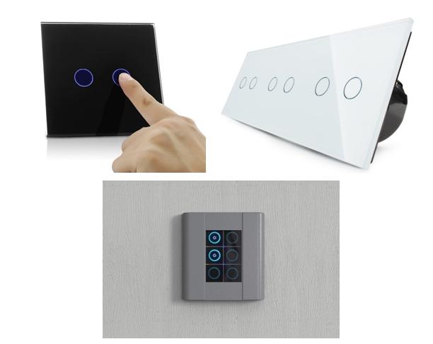 Виды сенсорных выключателей