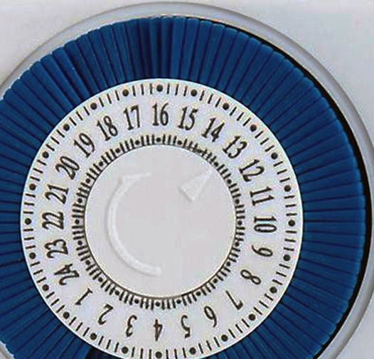 Шкала таймера на розетке ТМ-50