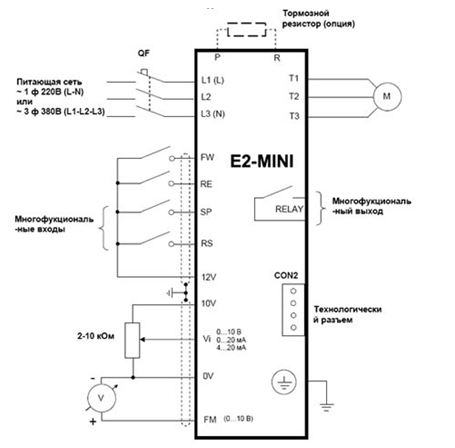 Пуск асинхронного двигателя в однофазной сети