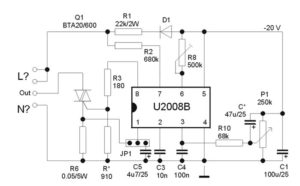 Микросхема U2008B