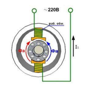Схема центробежного выключателя