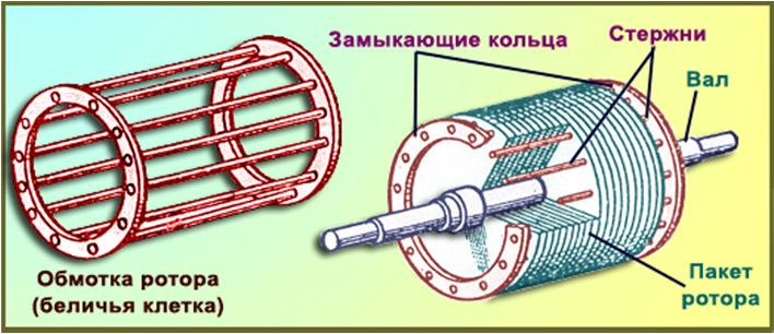 Устройство ротора