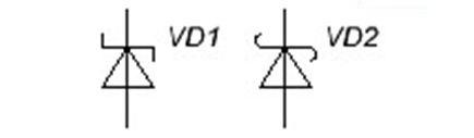 Обозначение диода Шоттки на схеме