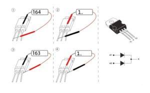 Проверка диода Шоттки мультиметром