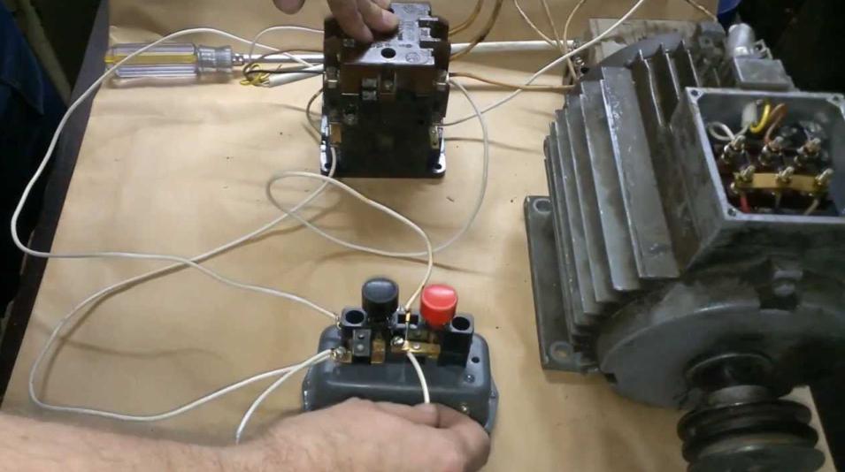 Использование магнитного пускателя