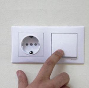 Розетка с выключателям в одном корпусе