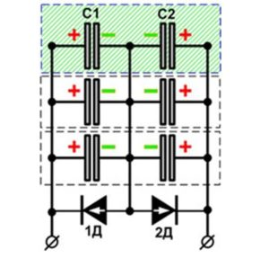 Схема электролитического катализатора