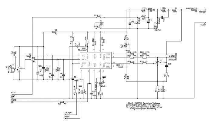Микросхема TDA 1085