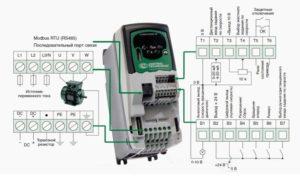 Подключение ПЧ к электродвигателю